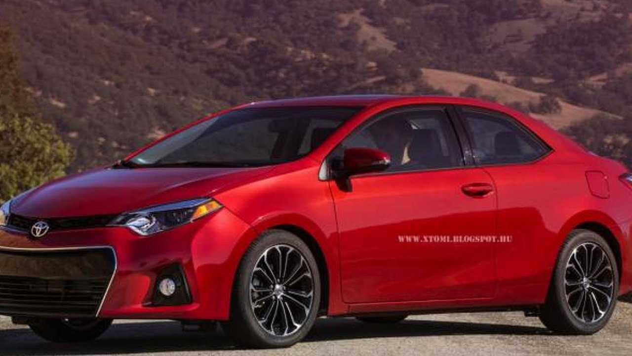 2014 Toyota Corolla Coupe render 19.06.2013