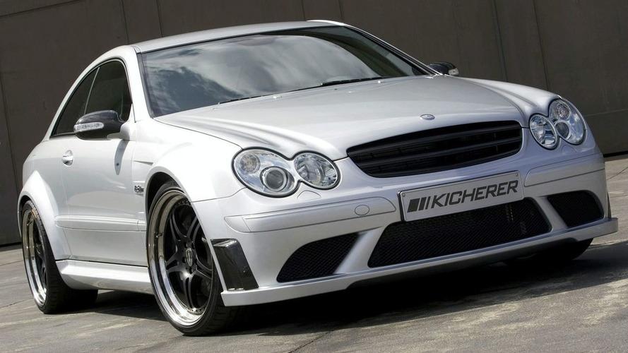 Kicherer Tunes the Mercedes CLK63 AMG Black Edition