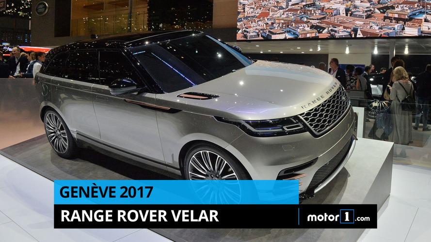 VIDÉO - Le Range Rover Velar en direct de Genève