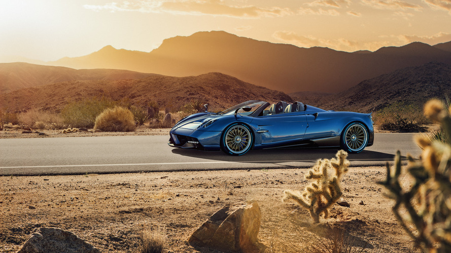 New Pagani Huayra Roadster is lighter, more powerful than the coupe