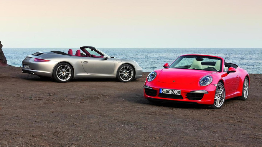 2012 Porsche 911(991) Carrera Cabriolet officially revealed [video]