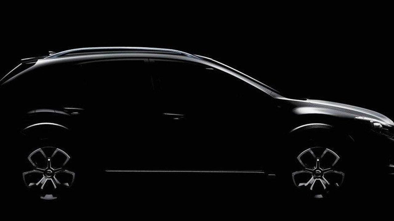 Subaru XV Concept teaser 11.04.2011