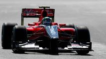 Di Grassi crashes Virgin before race