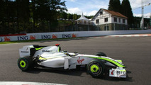 Brawn tried 'shark fin' in Spa practice