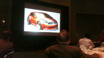 Dodge Teases New Compact Car During Chicago Auto Show Luncheon
