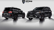 Lexus LX 570 Alligator by Larte