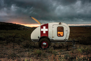 The Iconic Teardrop Camper Trailer is Going Off-Road