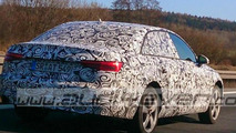 Audi A4 spied testing once again