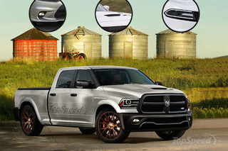 Ram Hellcat Concept Looks Wonderfully Insane
