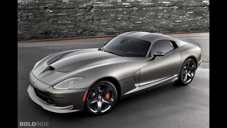 SRT Viper GTS Anodized Carbon Special Edition