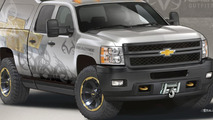 Chevrolet Silverado Realtree concept teased for SEMA [video]