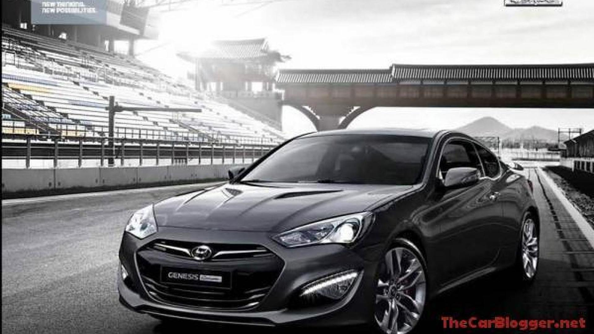 Leaked 2012 Hyundai Genesis Coupe image is a fake