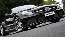 Mercedes SL r230FL Black Edition aero kit by Prior Design 22.07.2011