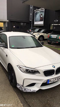 BMW M2 spy photo