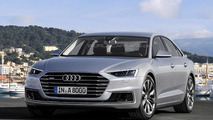 2017 Audi A8 rendered with Prologue concept influences