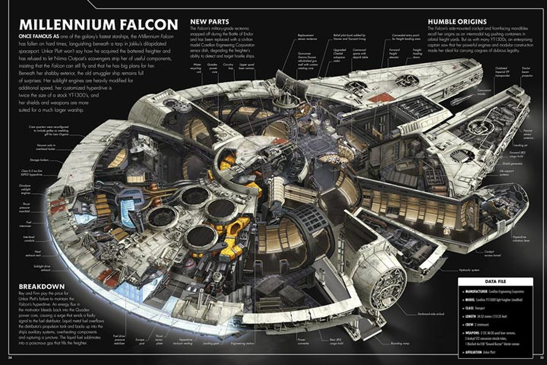 "New ""Star Wars"" Book Dissects Vehicles in Gorgeous Detail"
