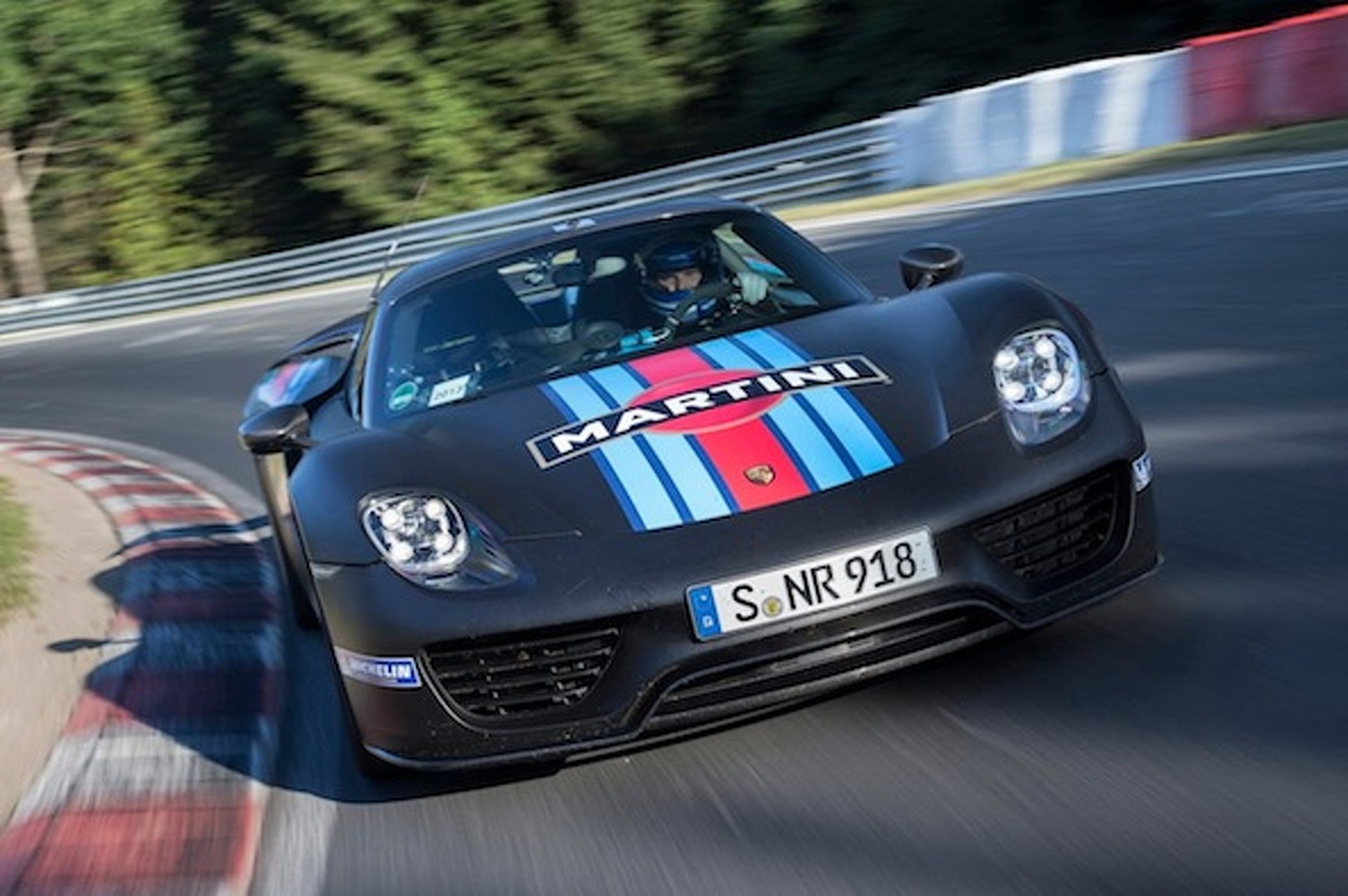 Porsche 918 Spyder: Fastest Production Car Around Nurburgring [w/video]