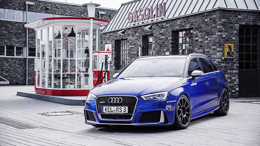 Tuner's 520-hp Audi RS3 offers R8 performance