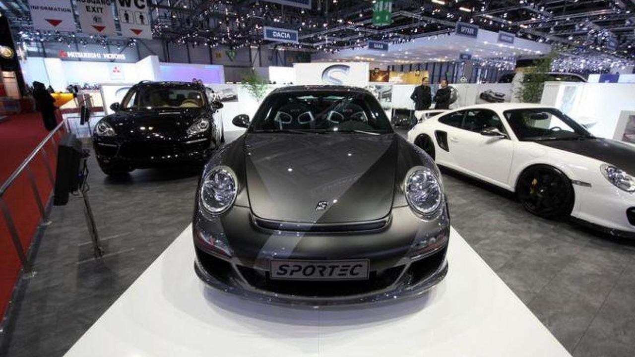 Sportec SPR1 FL based on facelifted Porsche 911 Turbo live in Geneva, 673 - 07.03.2011