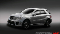 Mercedes-Benz ML 63 AMG Wide Body by Expression Motorsport