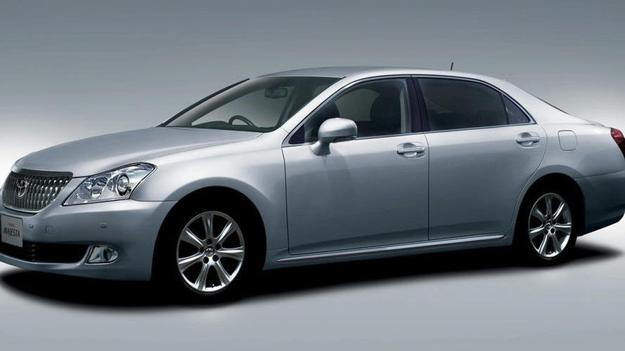 Toyota Launches Redesigned Crown Majesta in Japan