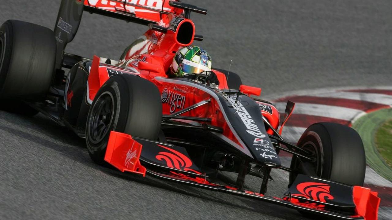 Lucas di Grassi (BRA), Virgin Racing - Formula 1 Testing, 28.02.2010, Barcelona, Spain