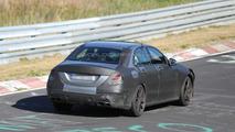 2014 Mercedes-Benz C63 AMG successor spy photo