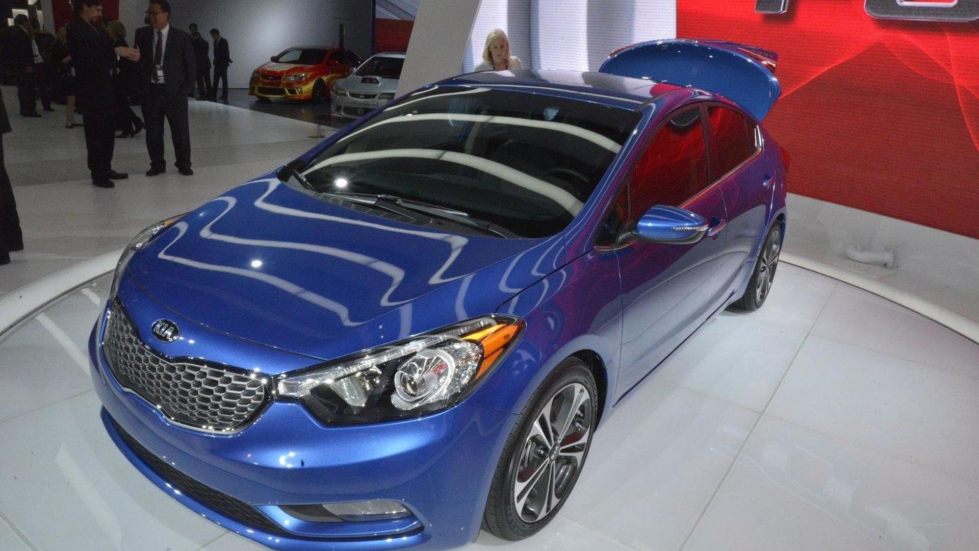 2014 Kia Forte sedan priced from 15,900 USD*
