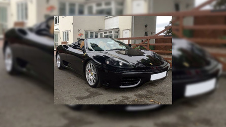 Score David Beckham's Ferrari 360 Spider For $160K