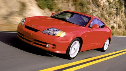 Worst Sports Cars: Hyundai Tiburon