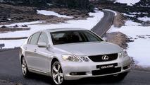 New Lexus GS430 in winter conditions