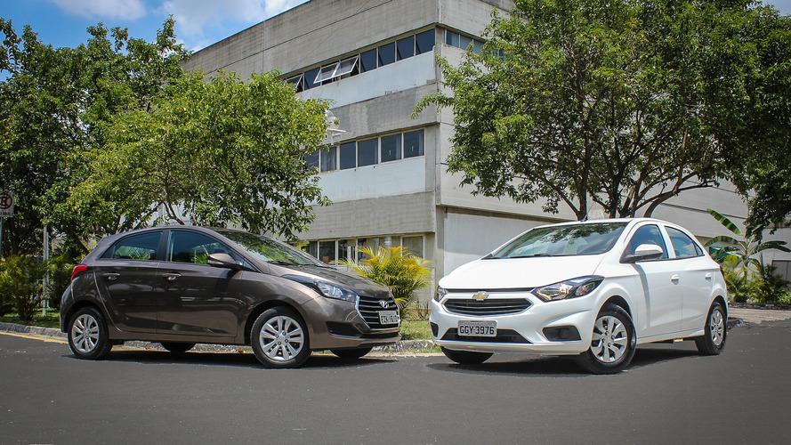 Comparativo Novo Onix x Hyundai HB20 - Qual o melhor entre os mais vendidos?