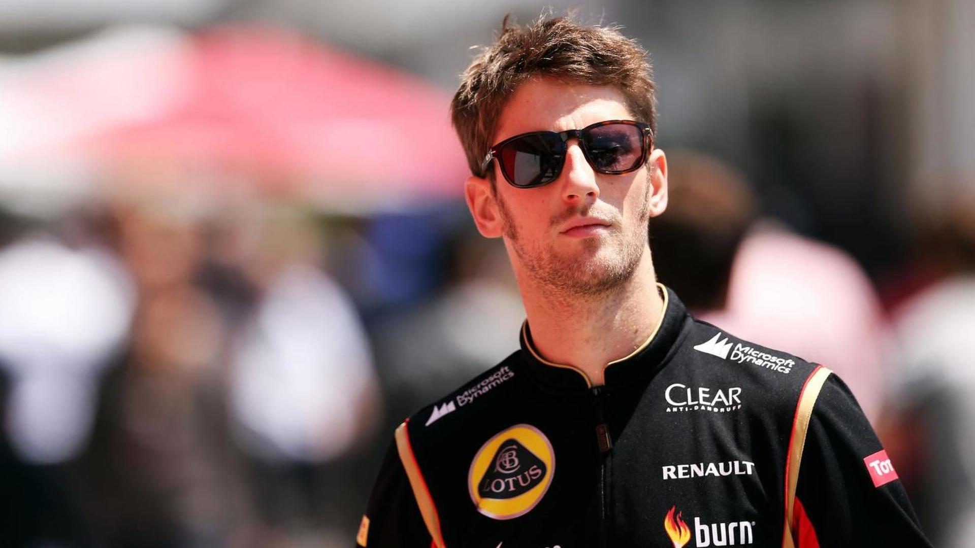 Grosjean jumps the gun on new Lotus deal