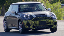 2015 MINI Cooper JCW spied with less disguise