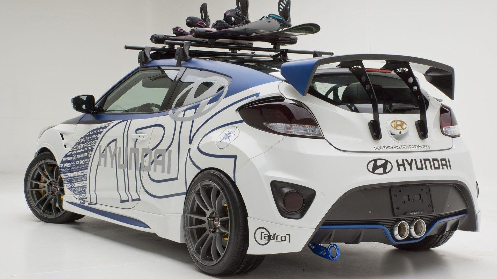 Hyundai Veloster Alpine Concept by ARK Performance heading to SEMA