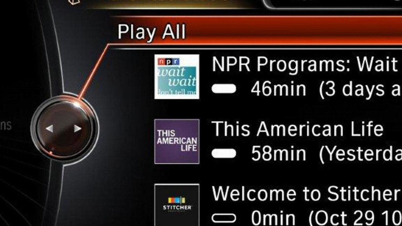 Stitcher SmartRadio app
