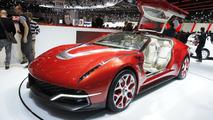Italdesign Giugiaro Brivido concept live in Geneva 06.03.2012