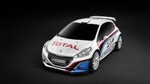 Peugeot 208 TYPE R5 rally car