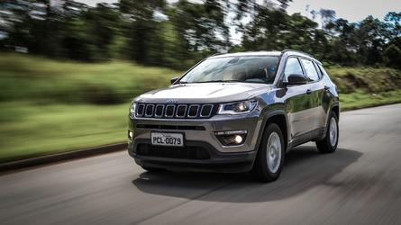 Mais vendidos na 1ª quinzena de janeiro - Compass é líder entre SUVs e Etios entra no top 10