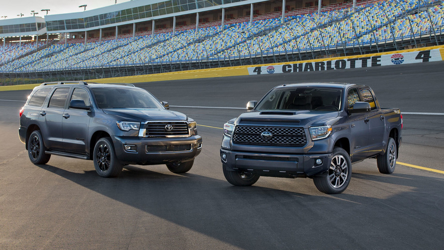 Wonderful 2018 Toyota Sequoia Tundra TRD Sport Models Toughen Up