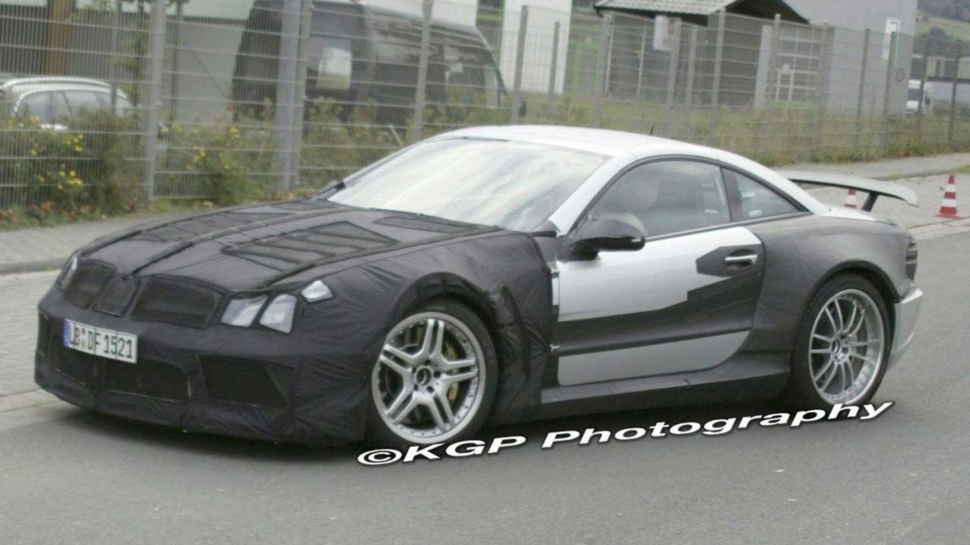 Mercedes-Benz SL AMG Black Series Could Reach 720hp