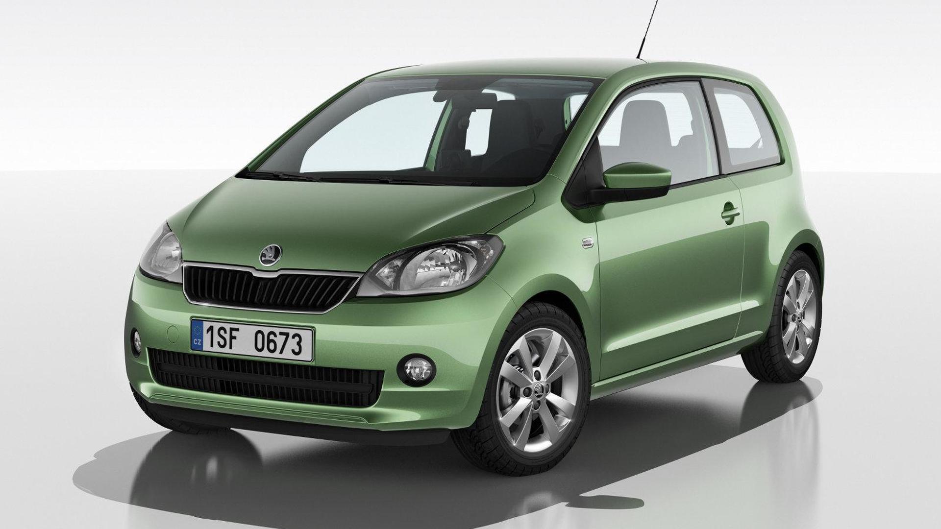 2012 Skoda Citigo unveiled - based on the VW up!