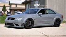 Mercedes-Benz CLK DTM with ADV.1 wheels, 1024, 23.12.2011
