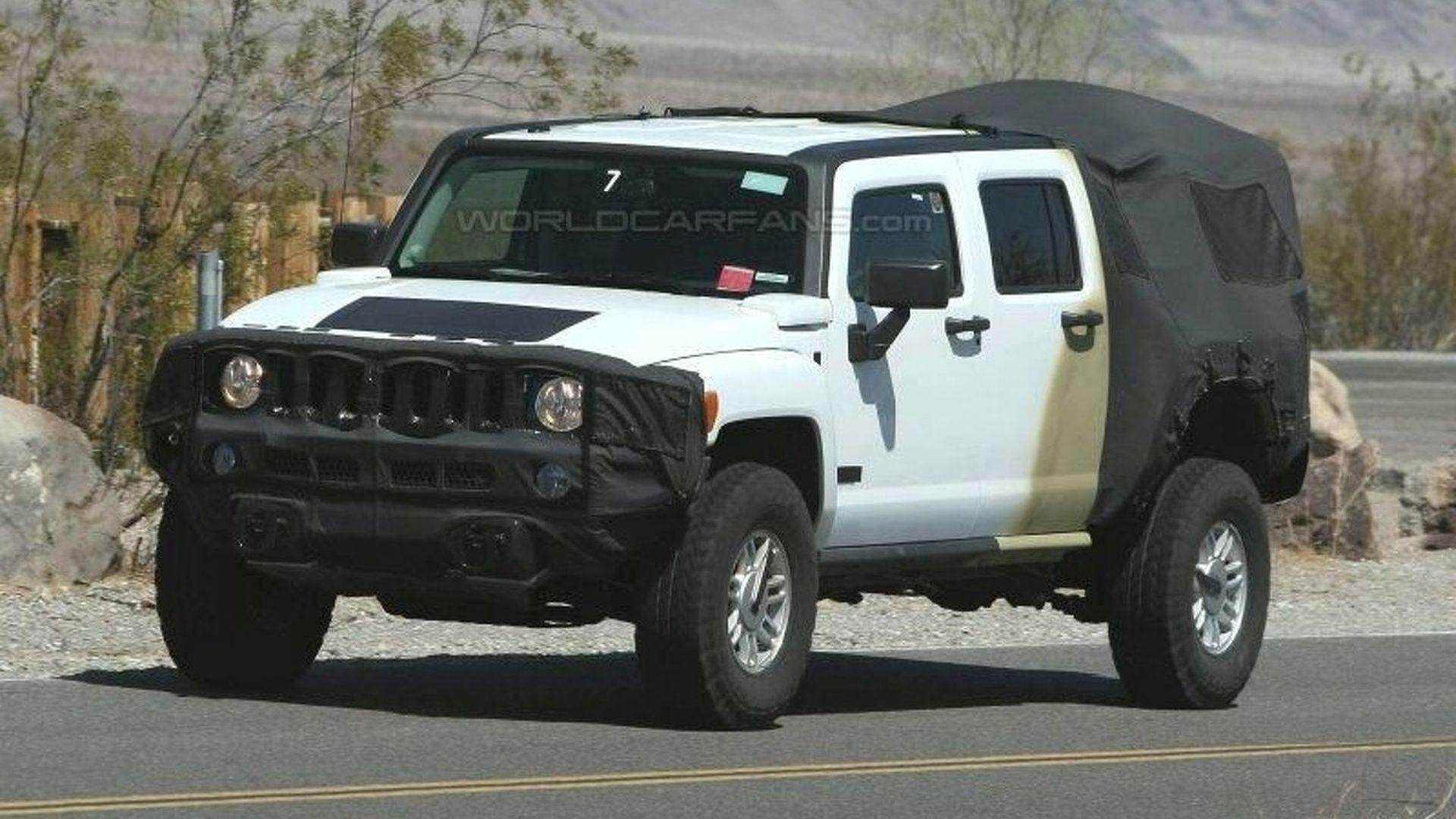 2009 Hummer H3T Latest Spy Photos