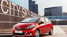 2012 Toyota Yaris - First official images of Euro-spec model
