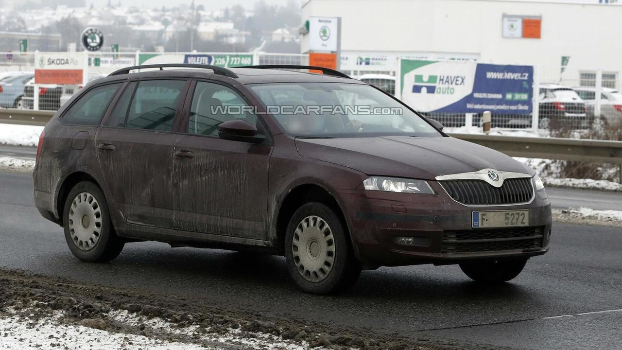 2013 Skoda Octavia Combi spy photo 24.01.2013 / Automedia