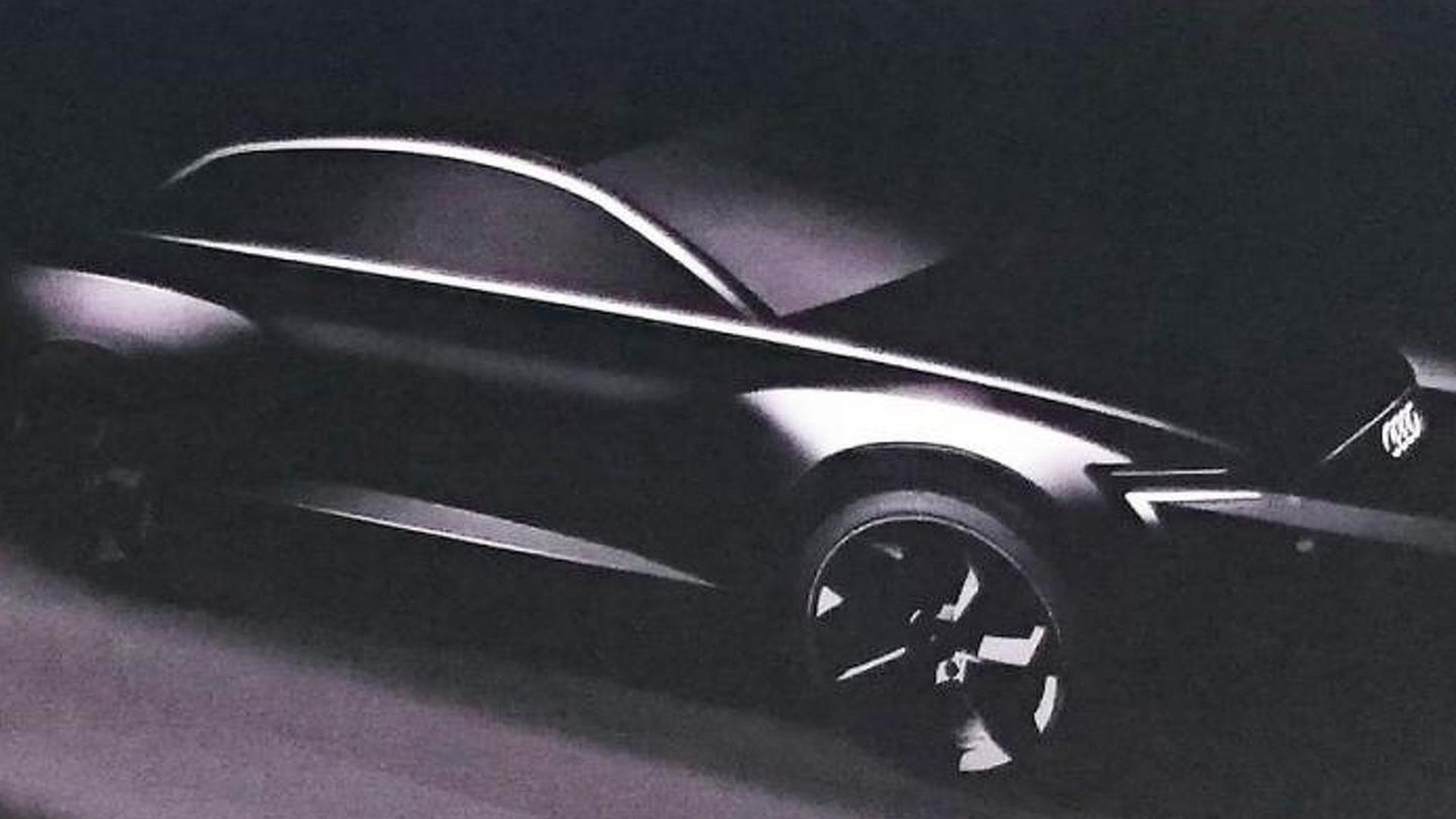 All-electric Audi Q6 teased, Q8 flagship reconfirmed