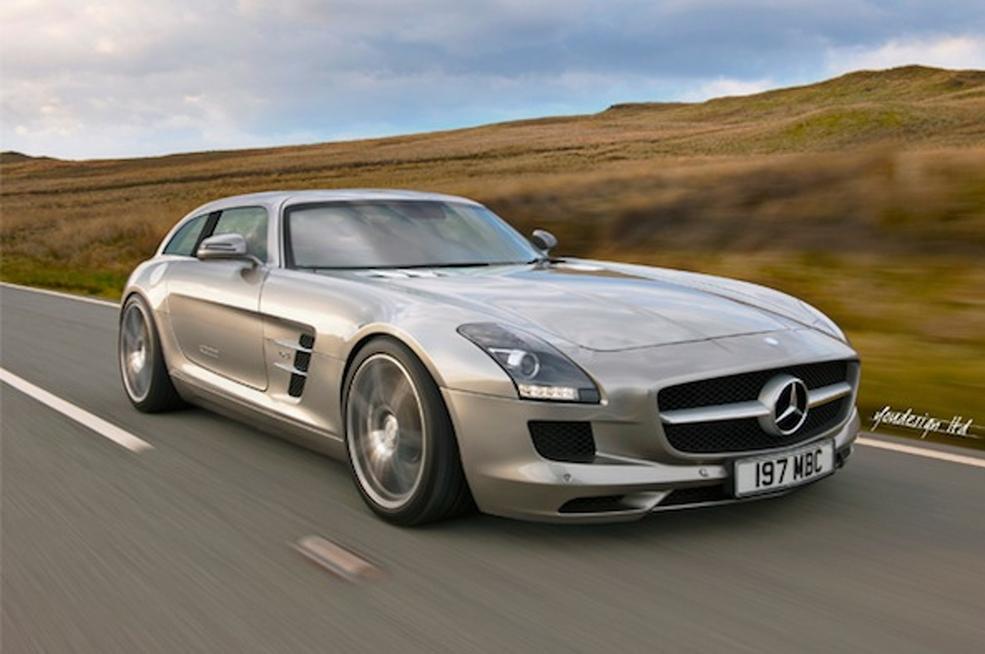 Mercedes-Benz SLS Shooting Brake is Straight Fire