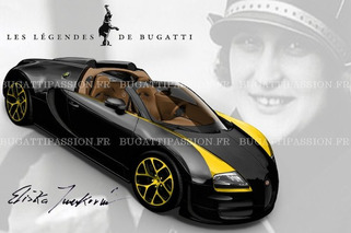 Leaked: Bugatti Honors Elizabeth Junek with Legend Edition Veyron