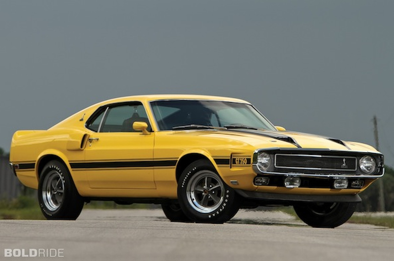 Last Ever Classic Shelby GT350 Headed for Auction